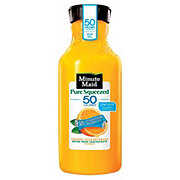 Minute Maid Pure Squeezed Light Orange Juice