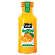Minute Maid Pure Squeezed Some Pulp 100% Orange Juice
