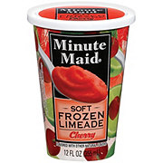 Minute Maid Soft Frozen Limeade Cherry Cup