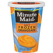 Minute Maid Soft Frozen Orangeade Cup