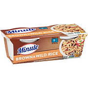 Minute Ready to Serve Brown And Wild Rice Cups, 4.4 oz