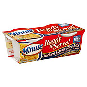 Minute Ready to Serve Chicken Flavor Rice Mix Cups, 4.4 oz