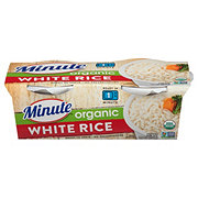 Minute Ready to Serve Organic White Rice Cups