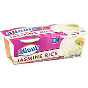 Minute White Jasmine Rice Cups 2 pk