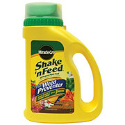 Miracle-Gro Shake 'N Feed Plus Weed Preventer