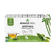 Miracle Tree Organic Moringa Decaffeinated Green Tea Bags