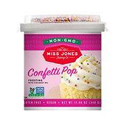 Miss Jones Organic Confetti Pop Frosting