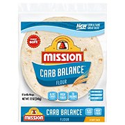 Mission Carb Balance Flour Tortillas Soft Taco