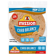 Mission Carb Balance Small Fajita Whole Wheat Tortillas