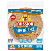 Mission Carb Balance Whole Wheat Large Burrito Tortillas