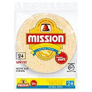 Mission Extra Thin Yellow Corn Tortillas