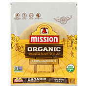 Mission Organic Uncooked Flour Tortillas