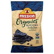 Mission Organics Blue Corn Tortilla Chips