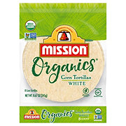 Mission Organics White Corn Tortillas