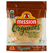 Mission Organics Whole Wheat Tortillas