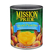 Mission Pride Yellow Cling Sliced Peaches in Light Syrup