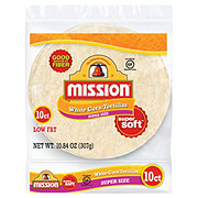 Mission Super Size White Corn Tortillas