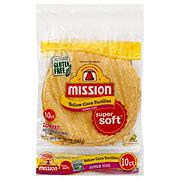 Mission Yellow Corn Super Size Tortillas