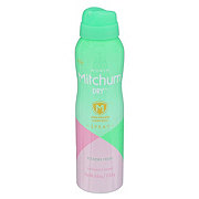 Mitchum For Women Dry Aerosol Spray, Powder Fresh