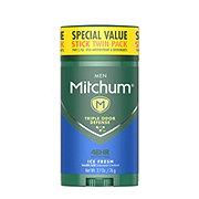Mitchum Men Advanced Control Stick Twin Pack Ice Fresh