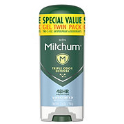 Mitchum Power Gel Unscented Antiperspirant & Deodorant