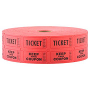 MMF Industries Colored Double Roll Tickets