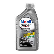 Mobil Super 10W-30 Synthetic Motor Oil