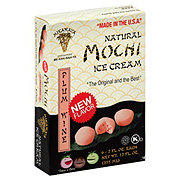 Mochi Ice Cream Plum Wine