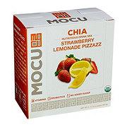 Mocu Chia Strawberry Lemonade Drink Mix Packets