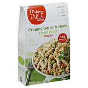 Modern Table Meals Creamy Garlic Herb Lentil Past
