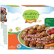 Mom Made Foods Turkey Meatball Bite Size
