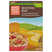 Mom's Best Naturals Oats & Honey Blend Cereal Family Size