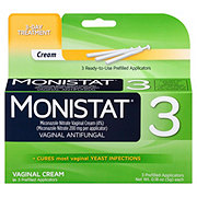 Monistat Regular Strength 3-Day Treatment Suppositories