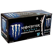 Monster Absolute Zero Energy Drink 16 oz Cans