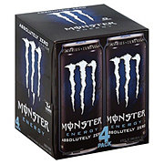 Monster Absolutely Zero Energy Drink 4 CT