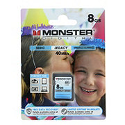 Monster Digital Class 10 8GB SDHC Cards