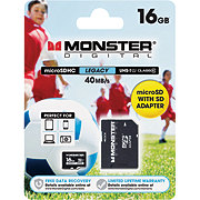 Monster Digital Legacy 16 GB Micro SD Card