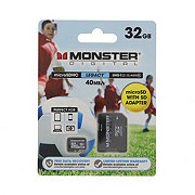 Monster Digital Media Legacy 32 GB Micro SD