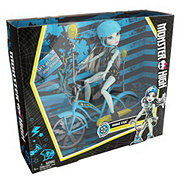 Monster High Frankie Stein Boltin' Bicycle & Doll