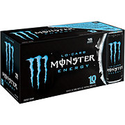 Monster Lo-Carb Energy Drink 16 oz Cans