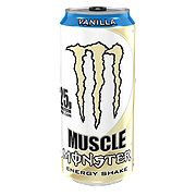 Monster Muscle Vanilla Energy Shake