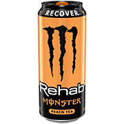 Monster Rehab Peach Tea + Energy Drink
