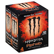 Monster Rehab Peach Tea & Energy Drink