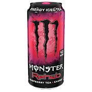 Monster Rehab Raspberry Tea + Energy Drink