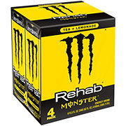 Monster Rehab Tea + Lemonade + Energy Energy Drink