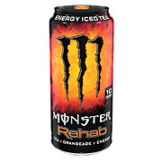 Monster Rehab Tea + Orangeade + Energy Drink