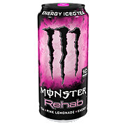 Monster Rehab Tea + Pink Lemonade + Energy Drink