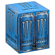 Monster Ultra Blue Energy Drink 16 oz Cans