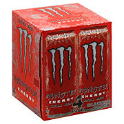 Monster Ultra Red Energy Drink 16 oz Cans