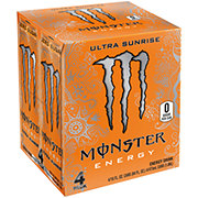 Monster Ultra Sunrise Energy Drink 16 oz Cans
